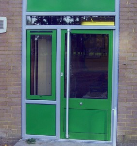 School Pivot Door